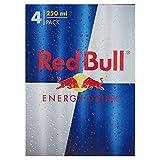 Red Bull Bevanda Energetica - 4 Lattine da 250 ml