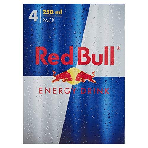 Red Bull - Bevanda Energetica - 3 confezioni da 4 Lattine da 250 ml [12 lattine, 3 l]