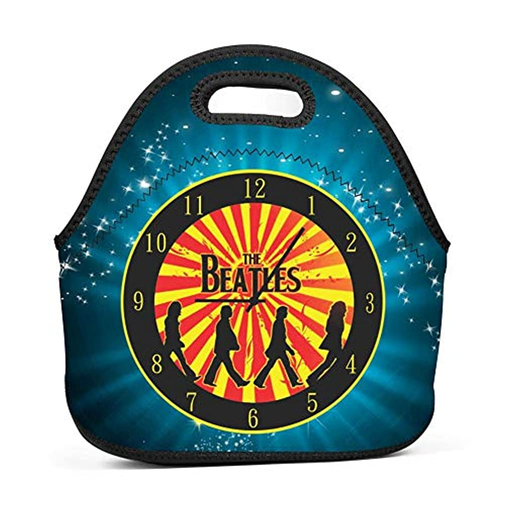 Cily-Bagge Custom The Bea-tles Band Office/School/Picnic Lunch Bag for Kids/Men/Women Tote Handbag