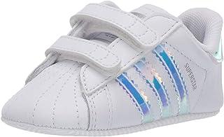 adidas Originals Baby Unisex Superstar  White/White/Black 3K