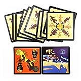Mrjg Full Inglés WeSwolves Board Juego con Reglas de inglés para Family Fun Card Game 24 Tarjetas Juegos de Mesa Juegos de Mesa (Color : Board Games)