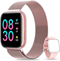 NAIXUES Smartwatch Orologio Fitness Sportivo Donna Uomo Impermeabile Smart Watch Cardiofrequenzimetro Contapassi da...