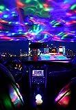 Auto innenlicht Wiederaufladbare Umgebungslampe, die die mobile, tragbare DJ -Leuchte auflädt, die...