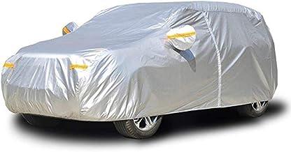 TOPOWN Bache Voiture exterieur B/âche de protection pour voiture b/âche protection voiture pour Imperm/éable Neige Poussi/ère Pluie Protection Bande de S/écurit/é R/éfl/échissante 485*180*150cm