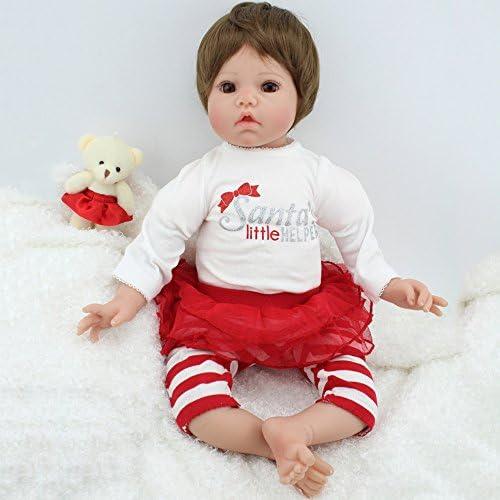 QXMEI Simulation Reborn Baby Doll 50 cm   20 Zoll  glied Silikon Spielzeug Geschenk