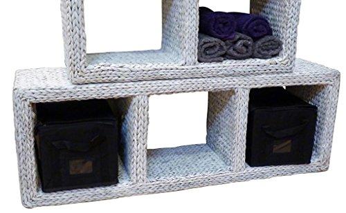 Artra design GmbH 3-delig rekelement rek- toren wit hoog of horizontaal te gebruiken kantoor hal plank wandplank dressoir