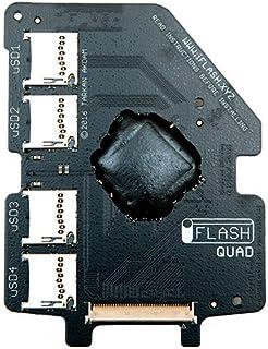 【iFlash-QUAD】 Quad MicroSD Adapter for the iPod 変換アダプター【正規品】