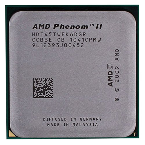 AMD Phenom II X6 1045T HDT45TWFK6DGR 2.7GHz Six-Core CPU Processor Socket AM3 938-pin