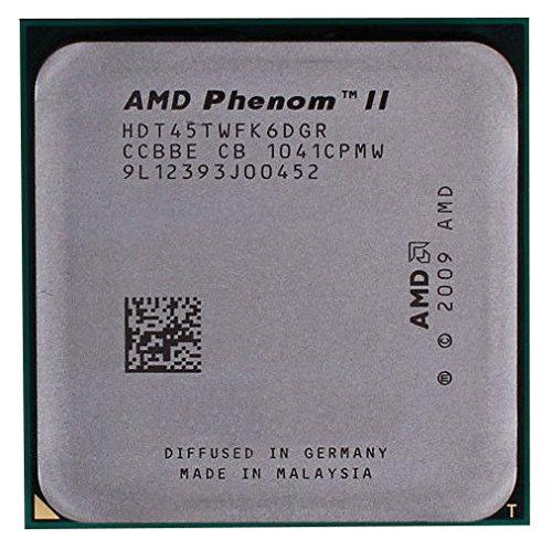 AMD Phenom II X6 1045T HDT45TWFK6DGR 2.7GHz Six-Core CPU Procesador Socket AM3 938-pin