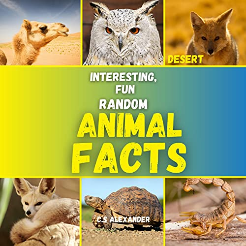 Interesting Fun, and Random Animal Facts cover art