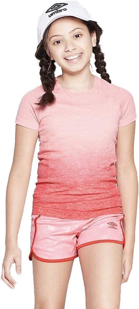 Umbro Girls' Ombre Short Sleeve Performance T-Shirt -