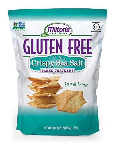 Milton's Gluten Free Crispy Sea Salt Baked Crackers, 1.2 Lb