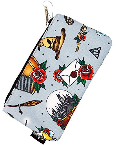 Loungefly x Harry Potter Relics Character Print Coin Cosmetic Bag Pencil Case