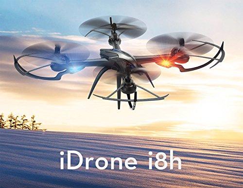 MODELTRONIC Drone Radio Control Quadcopter dron Yizhan Tarantula i8H RTF altitud Estable Completo