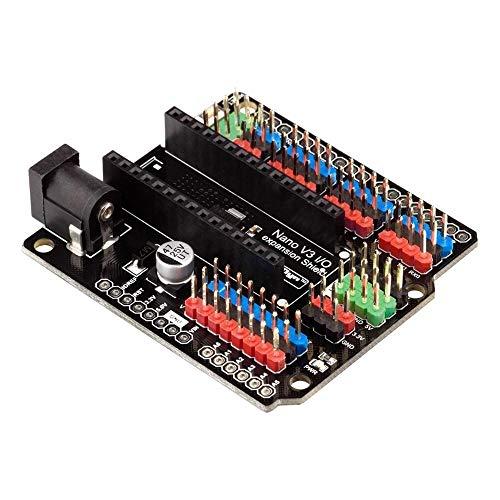 1 placa de expansión Nano I/O Shield para Arduino, productos que funcionan con placas de expansión oficiales Arduino