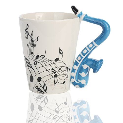 Saxophone Coffee Cup