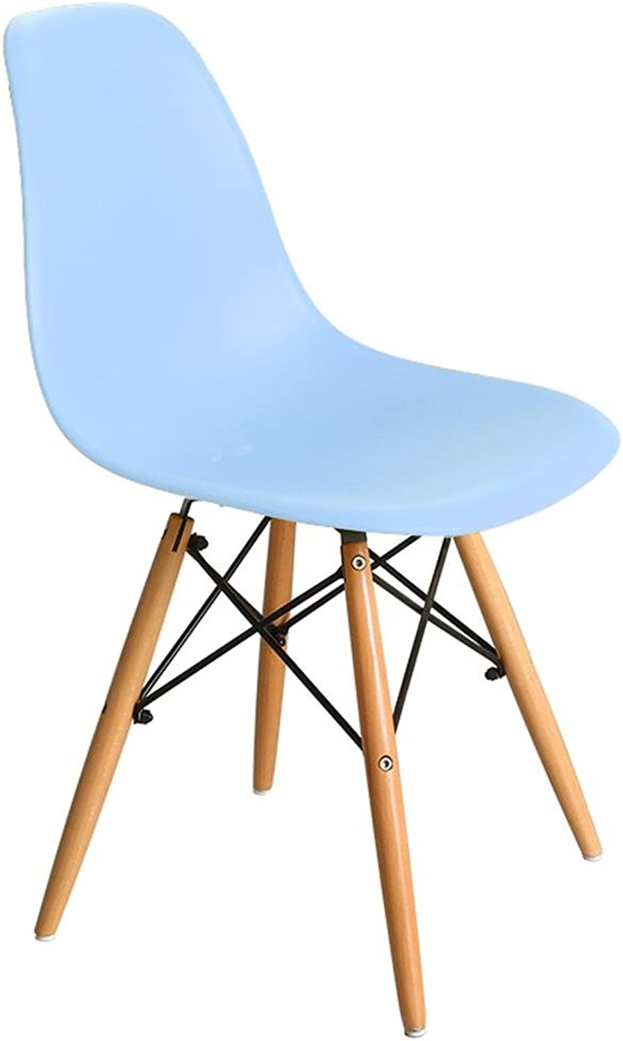 HETAO Fashion Wood Computer Chair Leisure Chair Backrest Chair Book Tables and Chairs Dining Chair Household Study 424043cm, 4