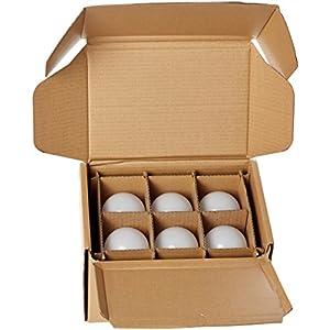 AmazonBasics 100 Watt Equivalent, Daylight, Non-Dimmable, A21 LED Light Bulb   6-Pack