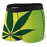 Web--ster Männer 'S Boxer Briefs Cannabis Leaf Comfort Unterwäsche für Männer
