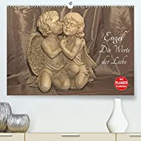 Engel - Die Worte der Liebe (Premium, hochwertiger DIN A2 Wandkalender 2022, Kunstdruck in Hochglanz): 12 Engelbotschaften begleiten Sie durchs Jahr. (Geburtstagskalender, 14 Seiten )