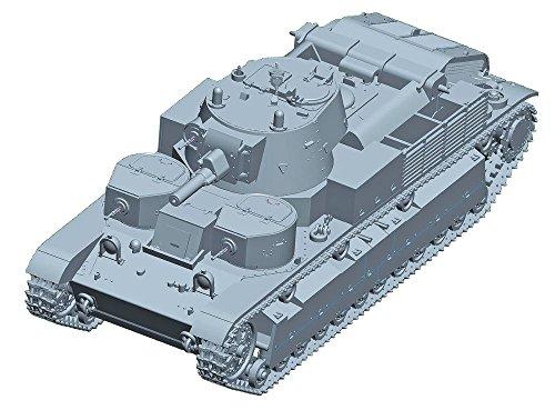 Trumpeter 7151 Soviet T-28 Medium Tank (Riveted) Plastikmodellbausatz, Farbig