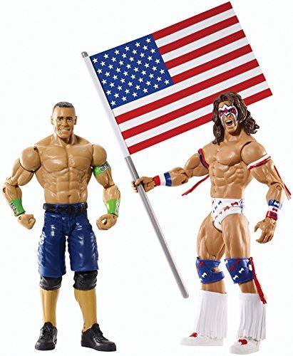 WWE Battle Pack Series #31 - John Cena vs. Ultimate Warrior Action Figure (2-Pack)