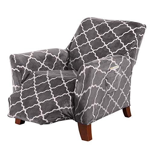 Great Bay Home Magnolia Collection Recliner Slipcover