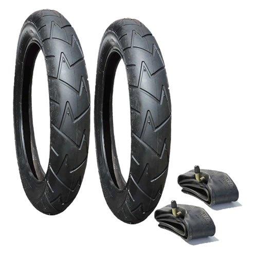 Un Juego de neumáticos y tubos para Bugaboo Burro ruedas traseras