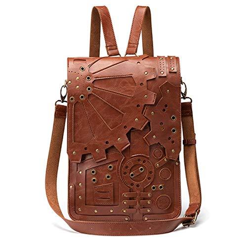 Steampunk Vintage Gear Mochila Bolsa Hombro Messenger Bag
