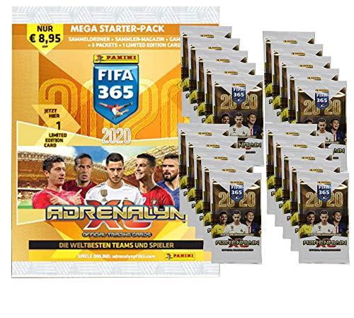 CAGO Panini FIFA 365 2020 Sammel Karten - 1 Starter + 20 Booster