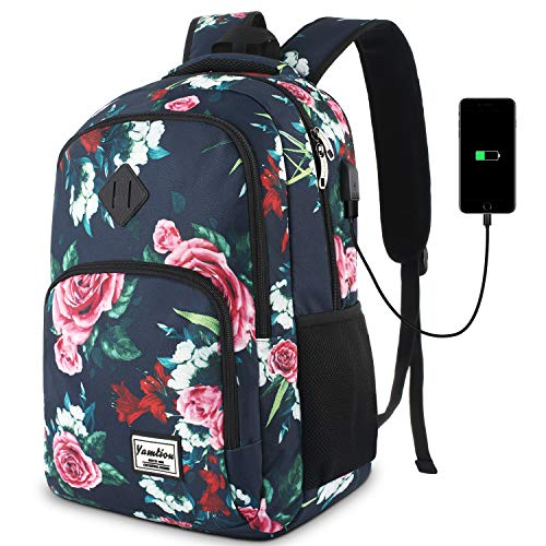 Backpack for Girls and Women,School Backpack with 15.6 inch Laptop compartments for College High School