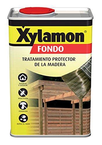 Xylamon 5088742 - Tratamiento protector de la madera, Bote 5 L, Fondo