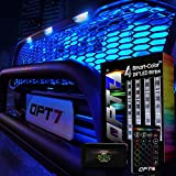 "OPT7 Aura 4pc PRO LED Lighting Kit for Grille | 24"" Multi-Color Strips"