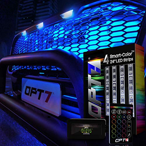OPT7 Aura 4pc LED Lighting Kit for Grille | 24