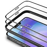 TAMOWA Vetro Temperato Compatibile con iPhone 12 Pro Max (2 Pezzi), 3D Copertura Completa Pellicola Protettiva in Vetro Temperato Compatibile con iPhone 12 Pro Max, Telaio di Installazione Incluso