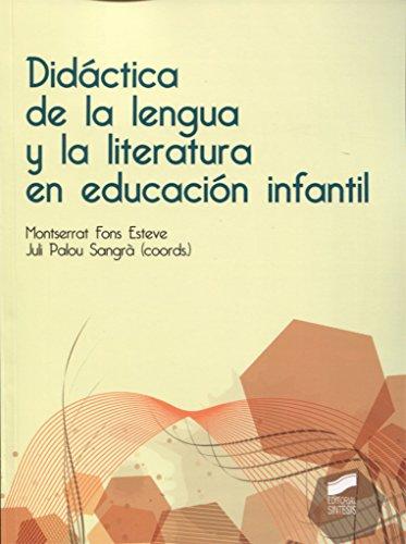 Didáctica de la lengua y la literatura en educación infantil - 9788490773758