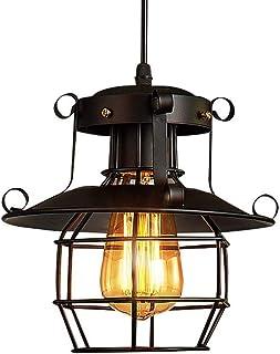 Home Equipment E27 Vintage Metal Edison Pendant Lamp Industrial Ceiling Lamp Retro Iron Adjustable Height Loft Chandelier ...