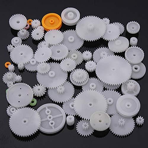 64 Tipo Engranaje de corona de plástico Engranaje de motor