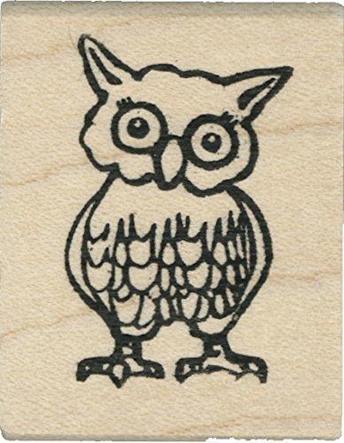 Tampon en caoutchouc - Small Owl - Cats Life Press 782 C