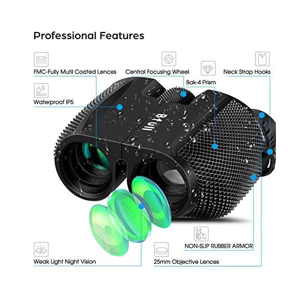 BFULL Binoculars 10x25, 10x42