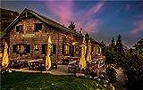 NA Puzzle Jigsaw Rompecabezas 1000 Piezas Austria Parks Houses Evening Gesause National Park para Amigo Adulto