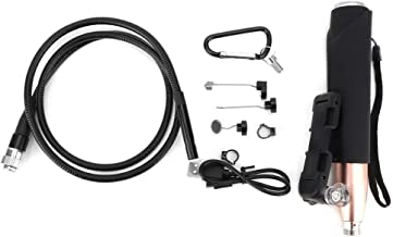 F110-HD1200P Integrated Endoscope with WiFi Handle, Industrial Led Inspection Borescopes Gold (with Battery)(3m)