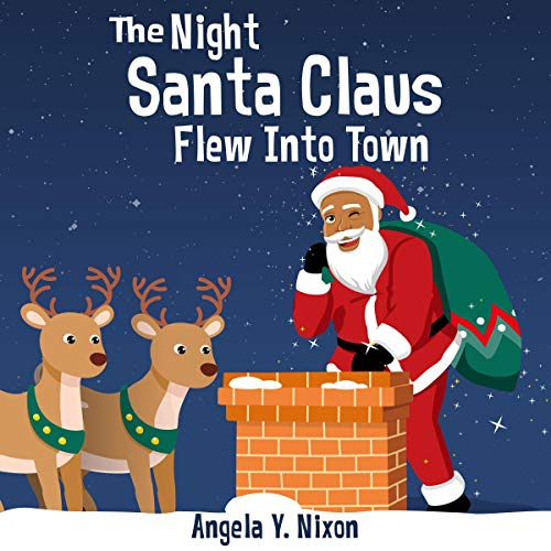 The Night Before Santa Claus Flew into Town audiobook cover art