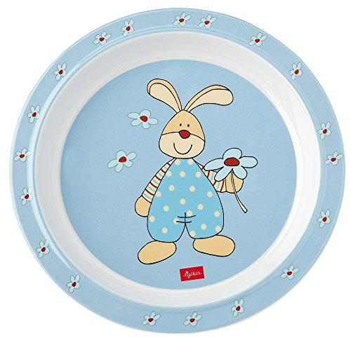 Sigikid Semmel Bunny Teller aus Melamin, 21,5 x 21,5 x 2,5 cm