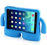 Vendopolis Funda Soporte para iPad 2 3 4 Ideal NIÑOS DE Goma ANTICAÍDAS FUNCIÓN DE Atril Funda DE Espuma EVA (Azul)