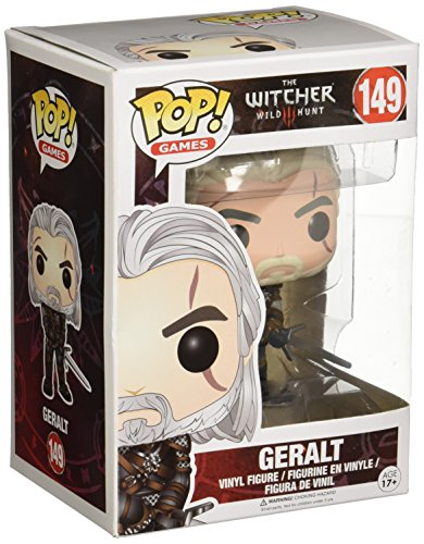 Funko Pop!- Geralt Figura de Vinilo, colección de Pop, seria The Witcher (6366)