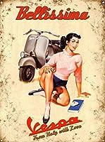 自動車のティンサイン壁の鉄の絵レトロプラークヴィンテージメタルシート装飾ポスターおかしいポスターぶら下げ工芸品バーガレージカフェホーム
