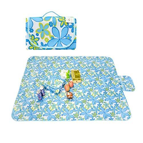 LXYSB Park Matten, Falten Freies Grün Picknick-Matten, unempfindlich gegen Feuchtigkeit Mats Kinder Strandmatte Isomatten bewegliche wasserdicht