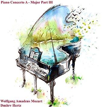 Piano Concerto a - Major Part III