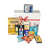 Fathers Day Gifts- Beer & Bar Snacks Hamper Gift Box/Gift Hamper Box Present from Son and Daughter, Gift for husband or Grandad- Fathers Day Hamper and Fathers day gifts for grandad (Fathers Gift)
